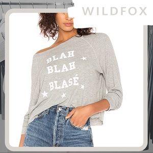🐰 NWT WILDFOX Blah Blah Blasé Monte Crop Top